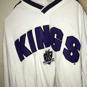 Vintage LA kings cropped jersey